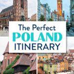 Poland Itinerary Krakow Warsaw Gdansk