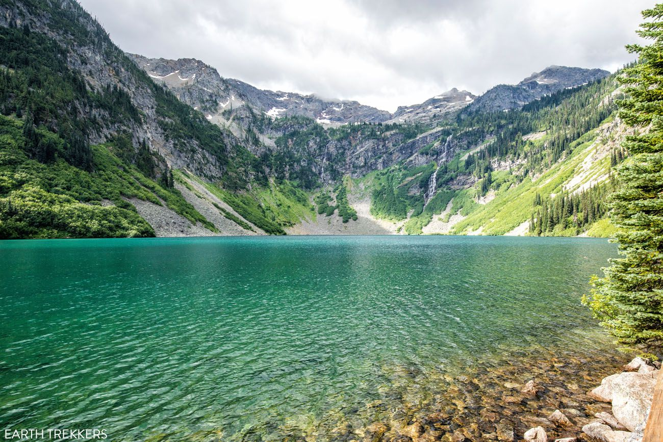 Rainy Lake North Cascades Washington itinerary
