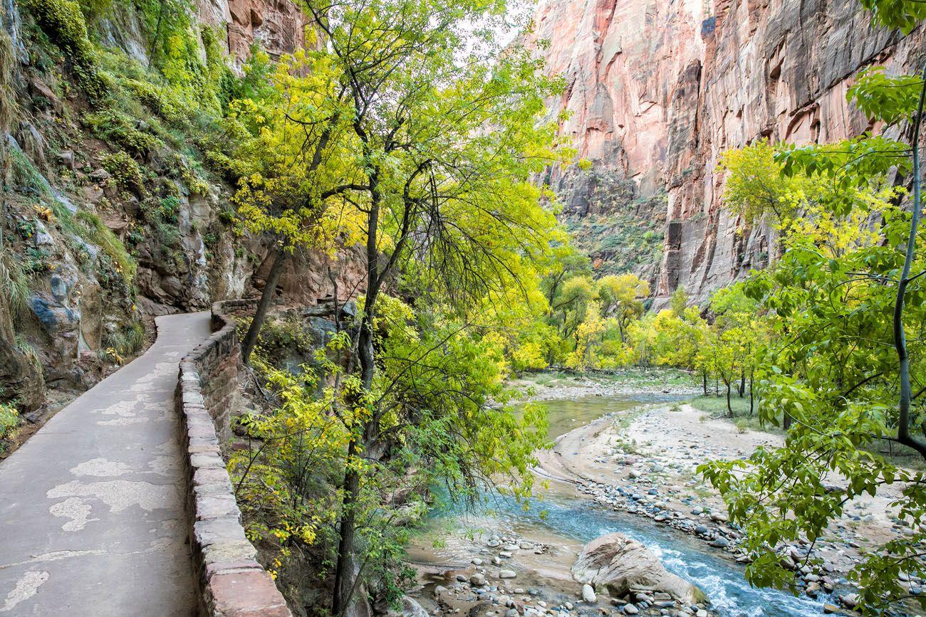Riverside Walk Zion