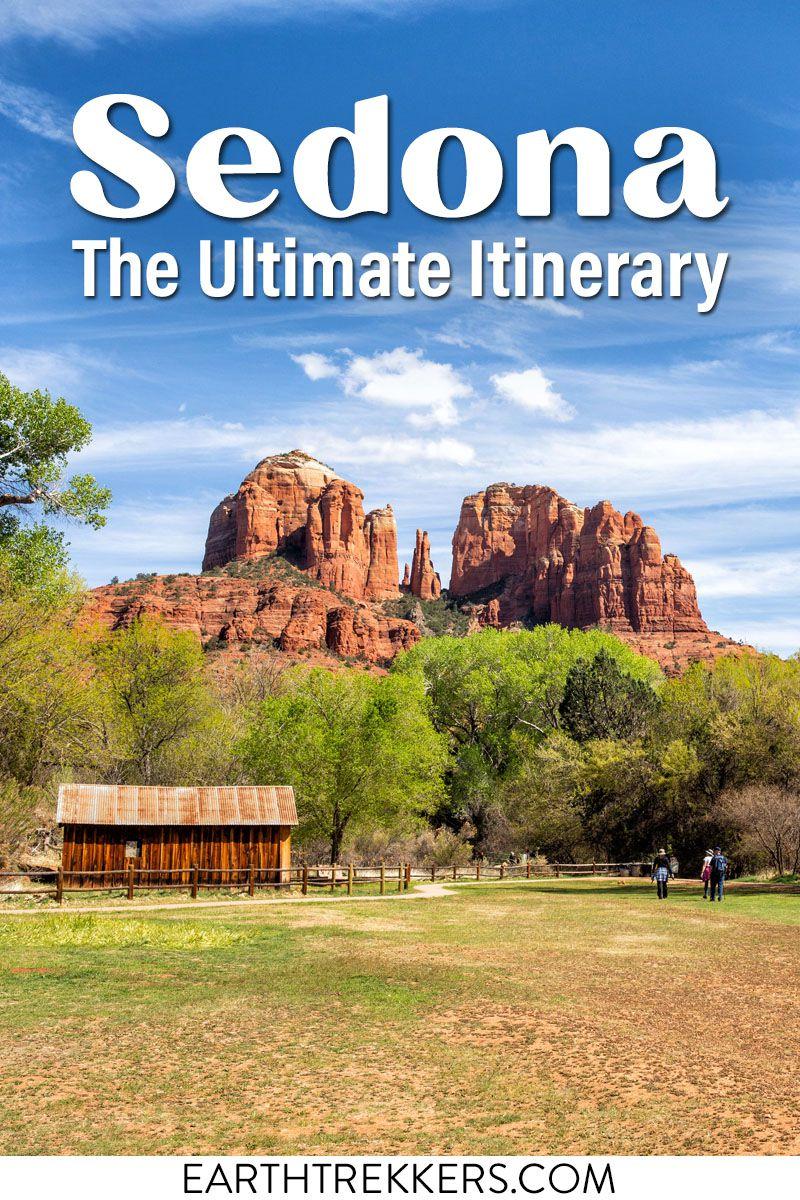 Sedona Arizona Itinerary Travel Guide