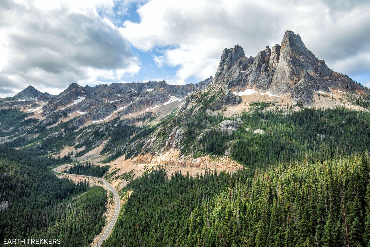 Washington Pass Overlook Washington itinerary
