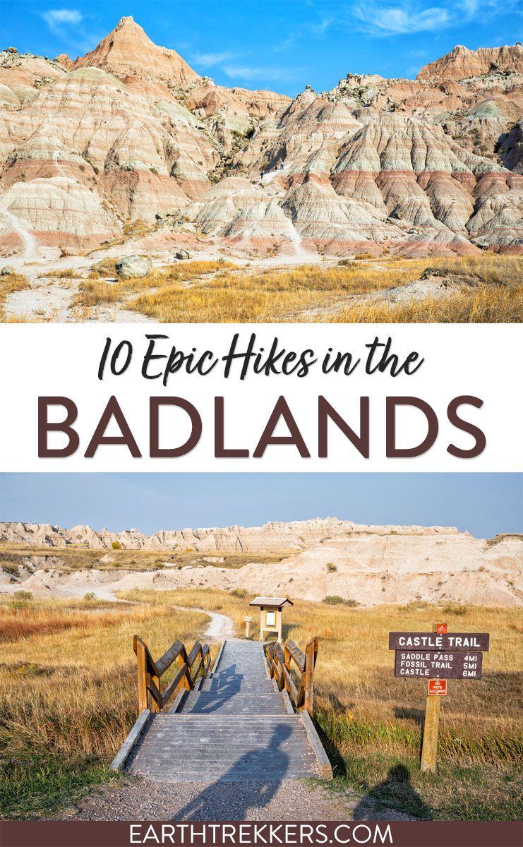 Best Hikes Badlands National Park