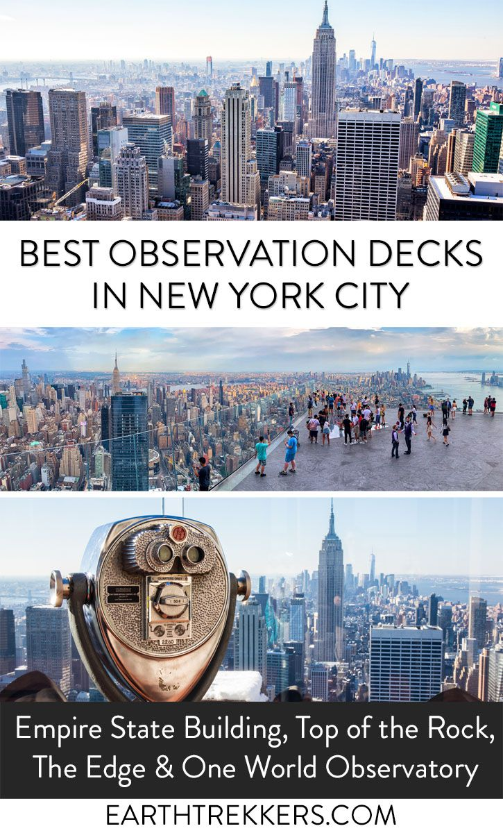 Best Views New York City Empire State Building