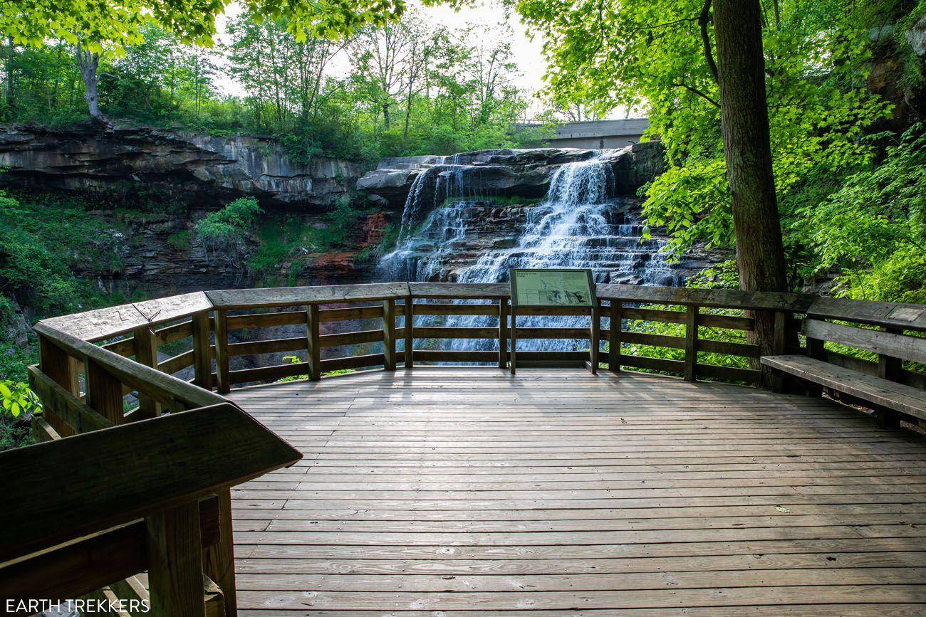 Brandywine Falls Overlook
