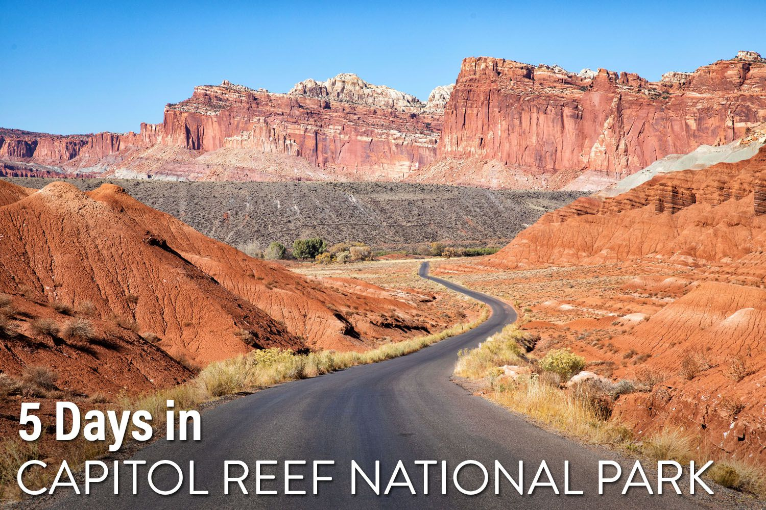 Capitol Reef Itinerary
