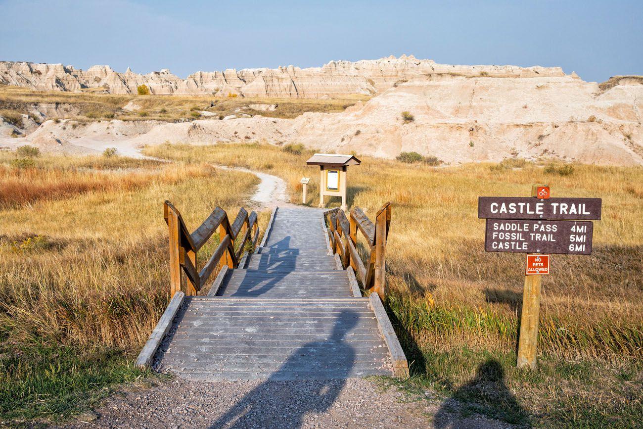 Castle Trail Trailhead