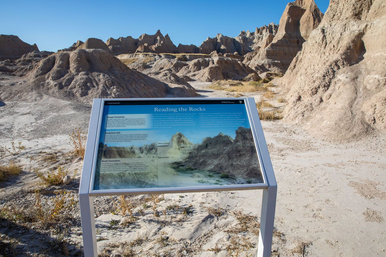 Fossil Exhibitbest hikes in Badlands National Park