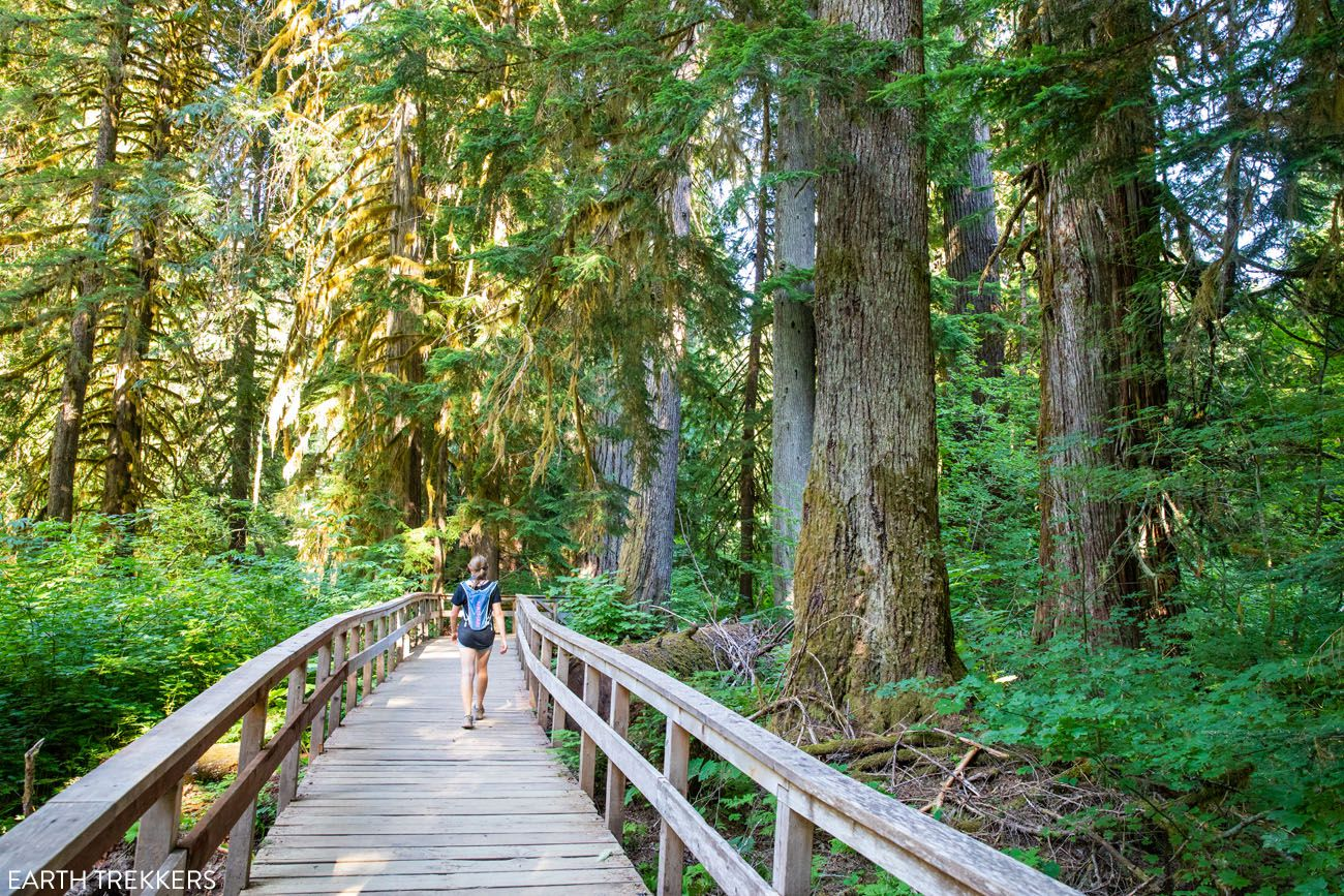 Hikes in MRNP