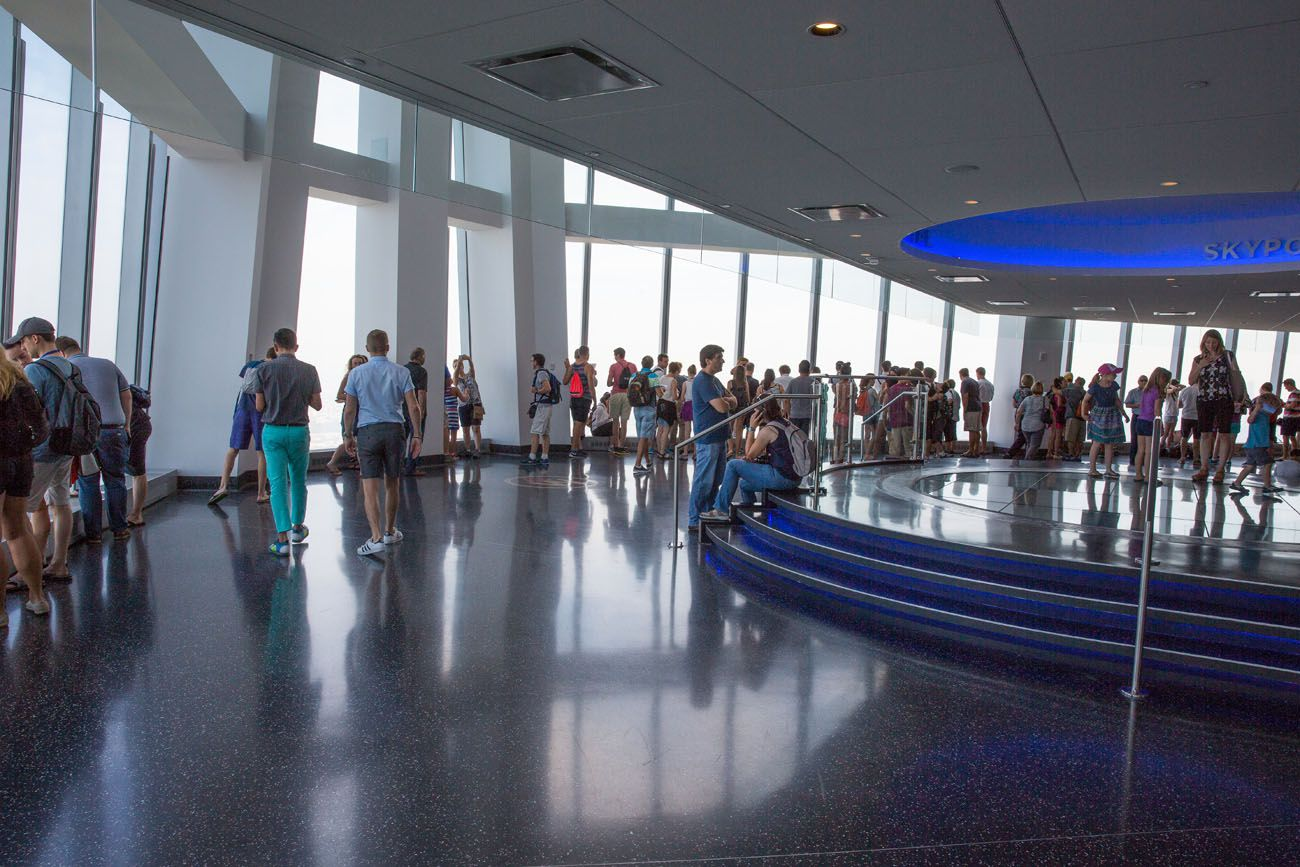 Inside One World Observatory best observation decks in NYC