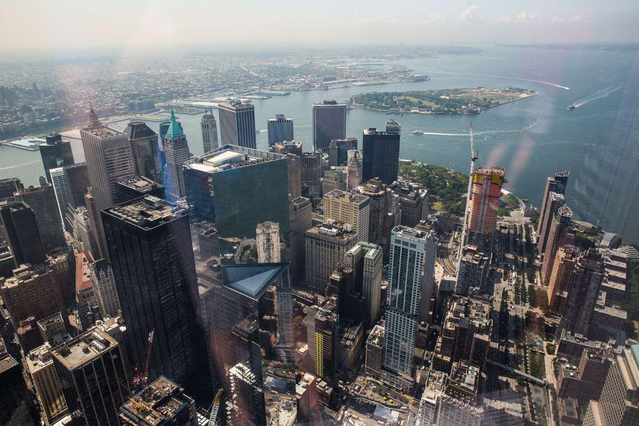 Lower Manhattan best observation decks in NYC