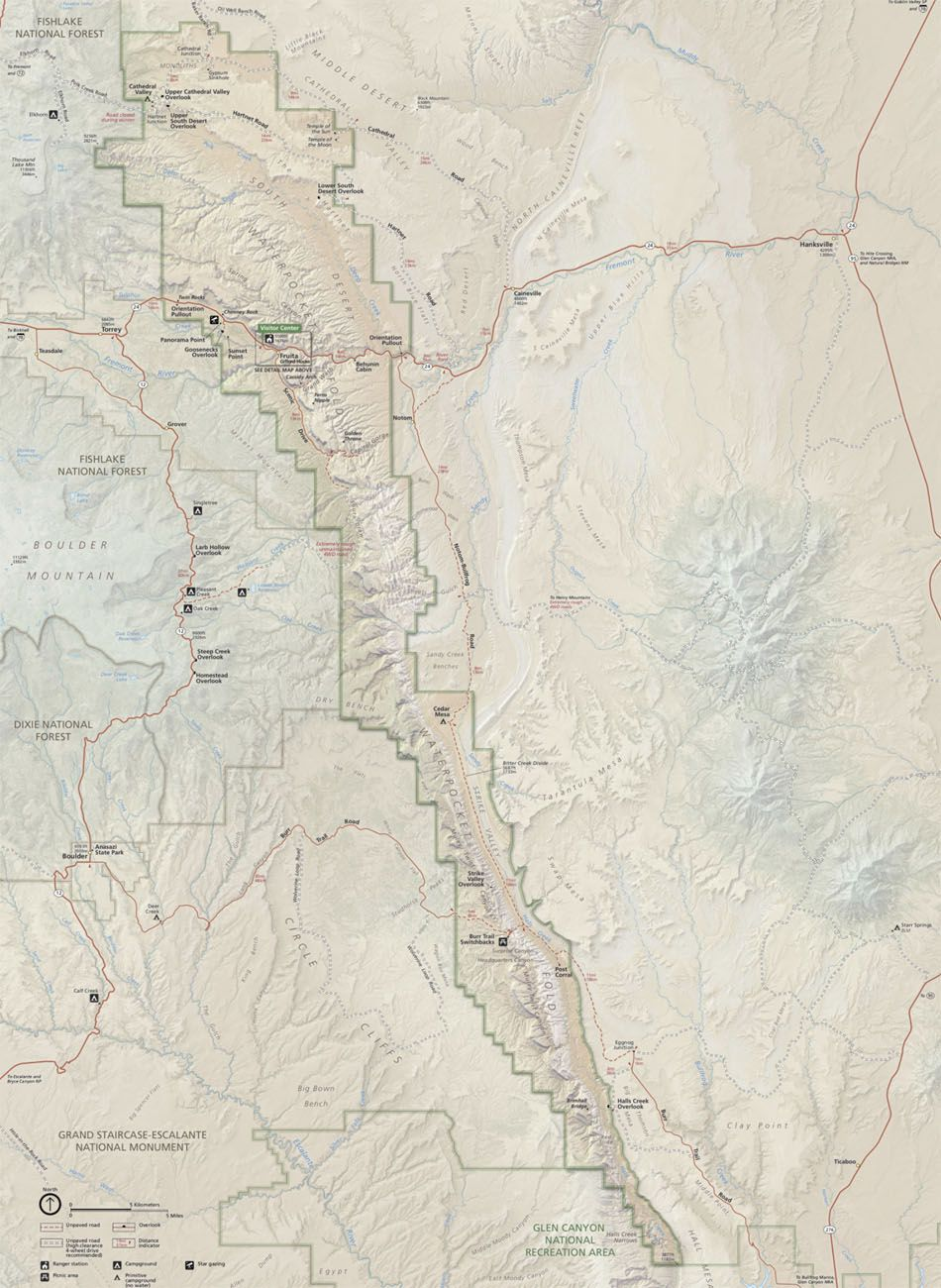 Map of Capitol Reef