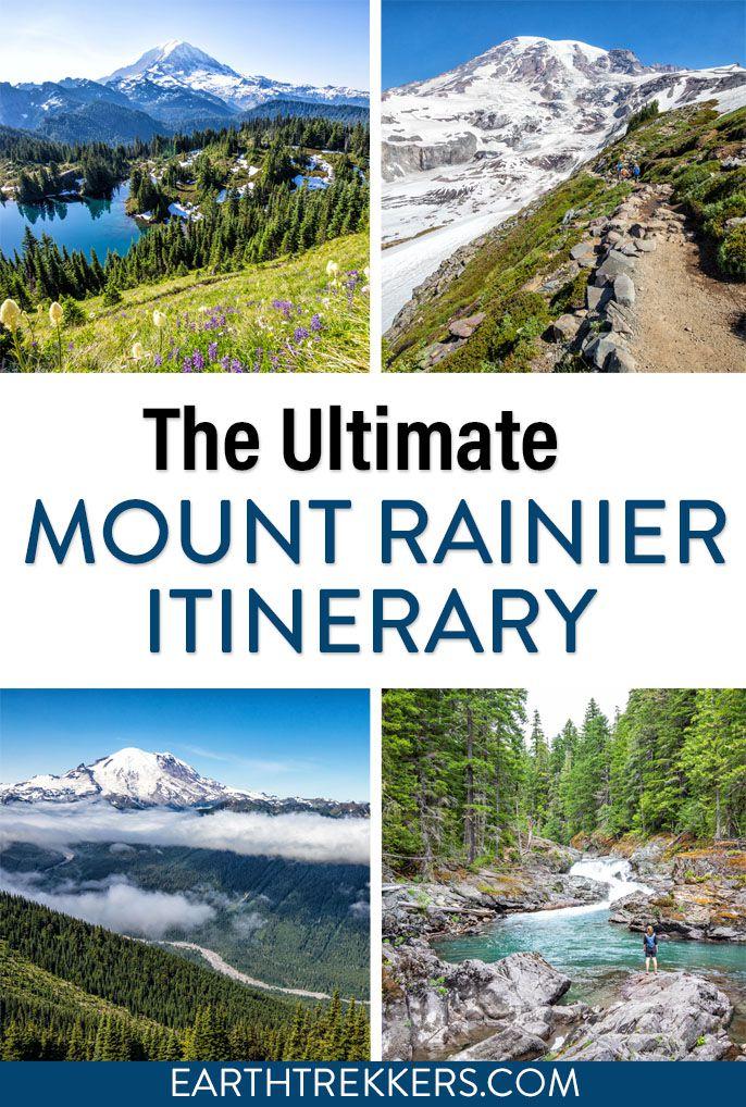 Mount Rainier National Park Itinerary Travel