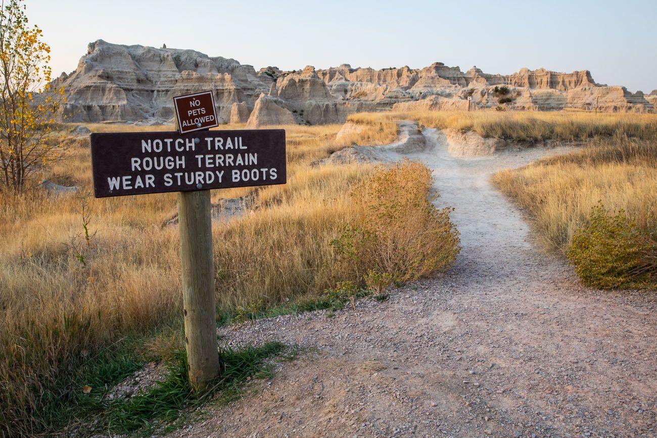 Notch Trail Sign