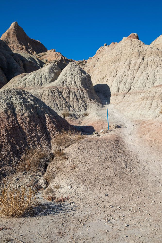 Saddle Pass Trail best hikes in Badlands National Park