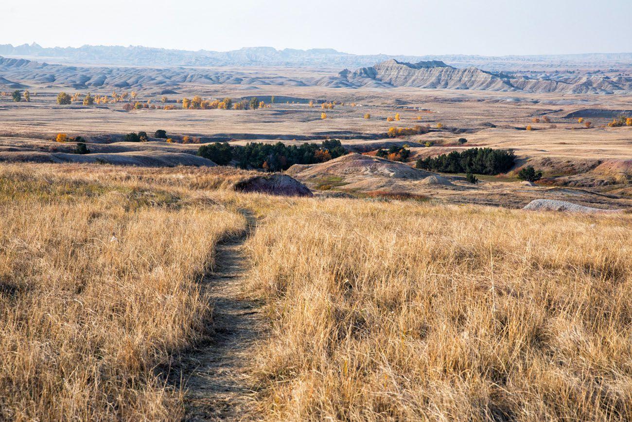 Sage Creek Wilderness Trail