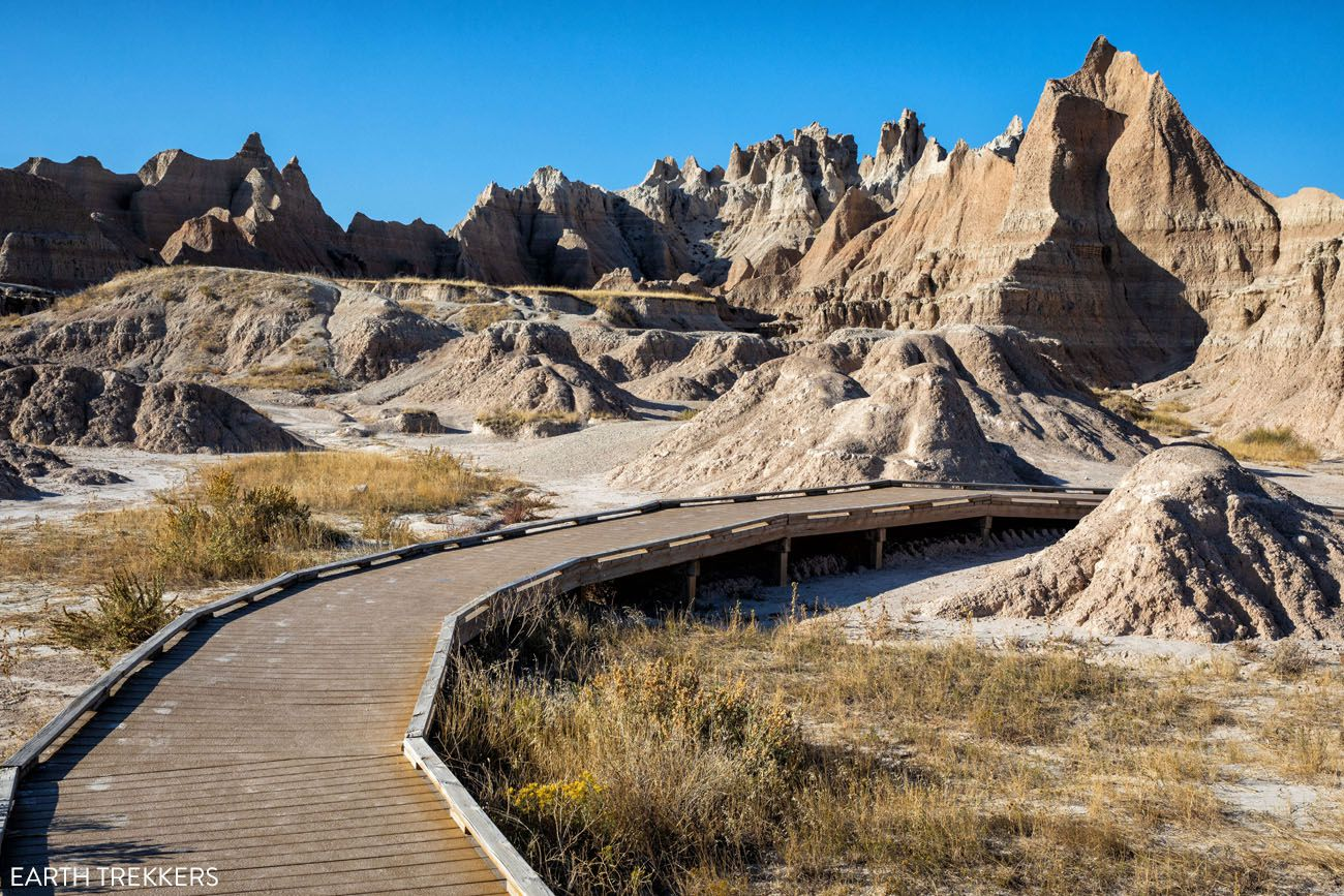 Short Hikes in the Badlands