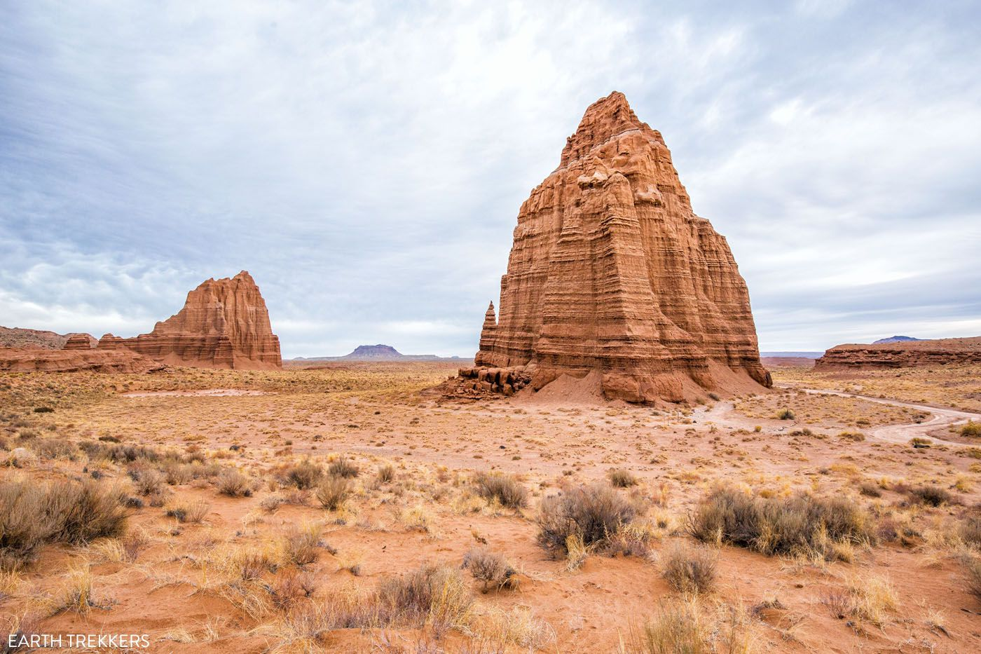 Temple of the Sun and Moon Capitol Reef National Park itinerary