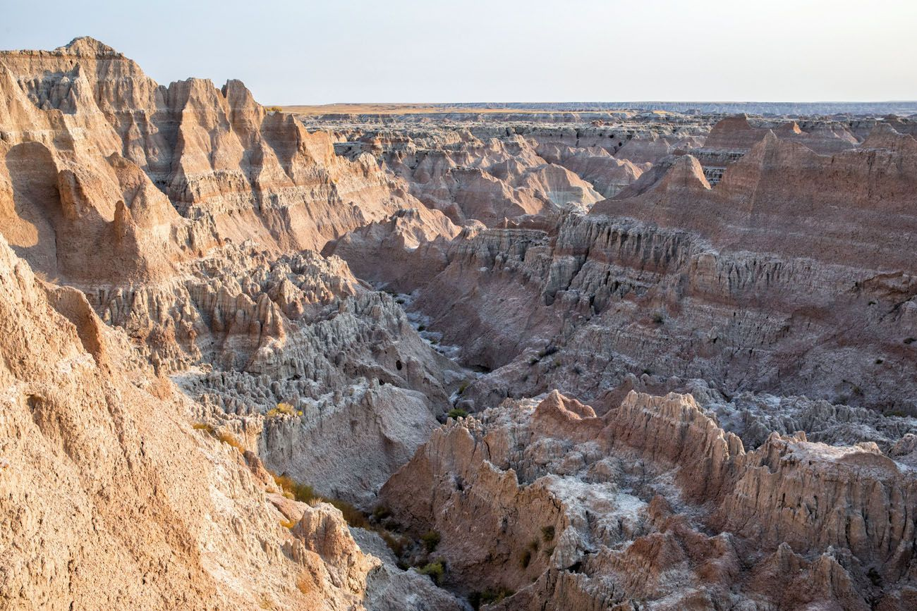 Window Trail View best hikes in Badlands National Park
