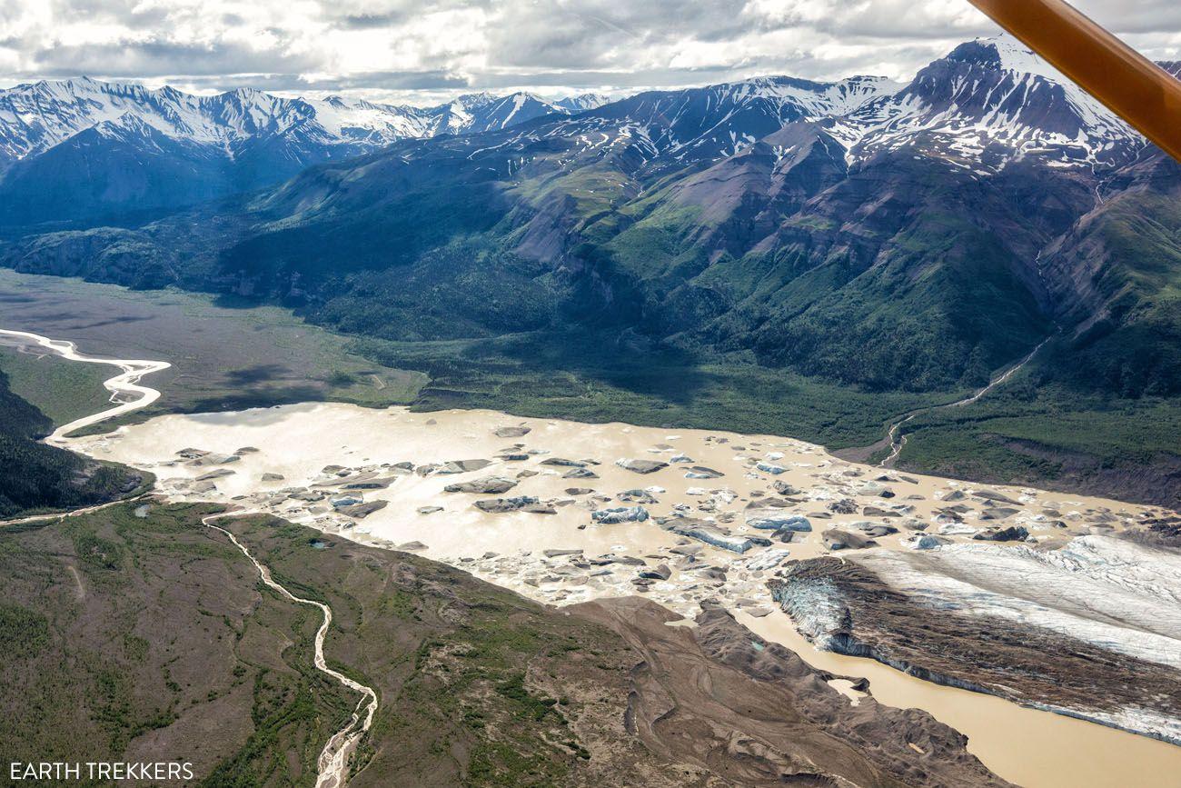 Wrangell St Elias Glacier Lake