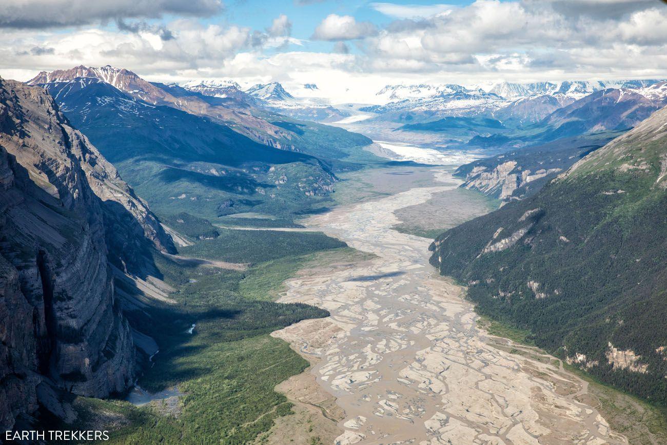 Wrangell St Elias River Valley