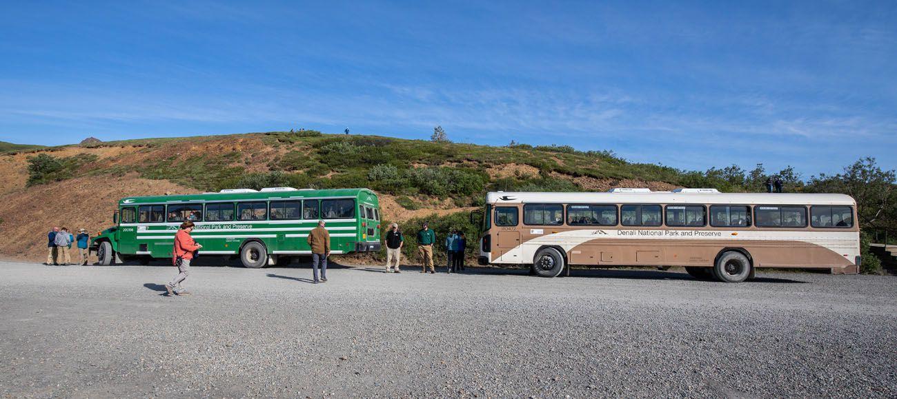 Denali Buses to Eielson