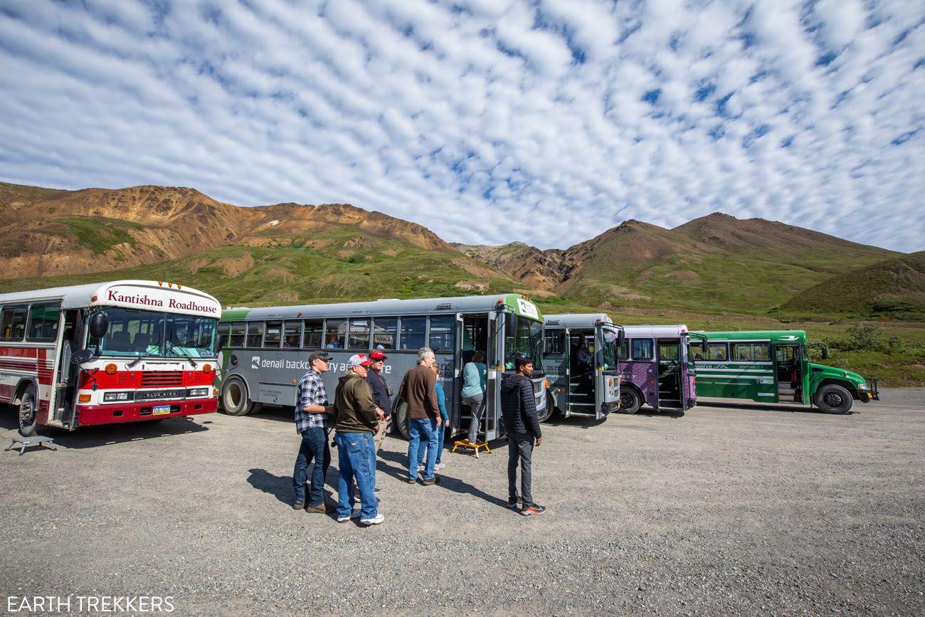 Eielson Buses