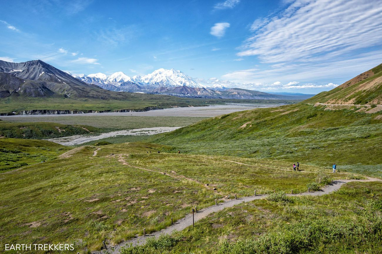 Eielson Visitor Center View