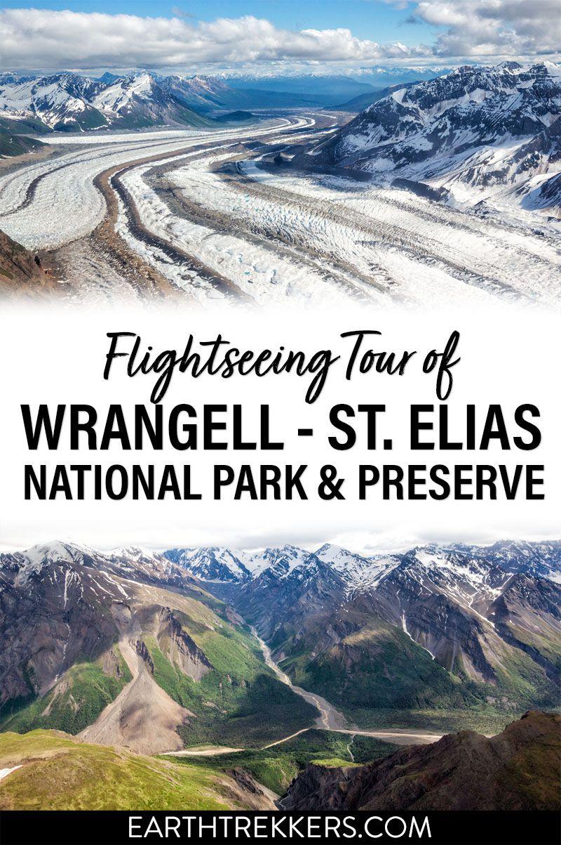 Flightseeing Wrangell St Elias National Park