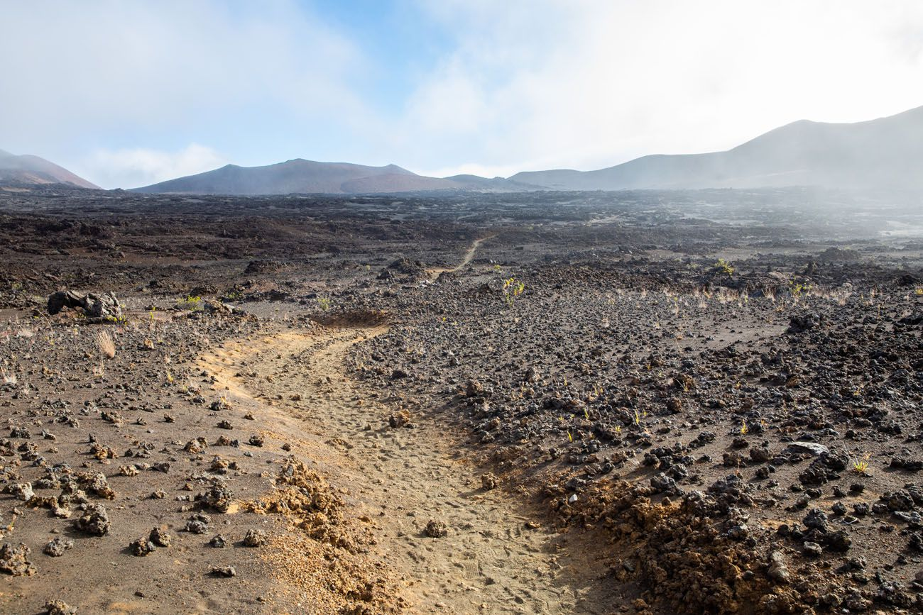 Across the Crater