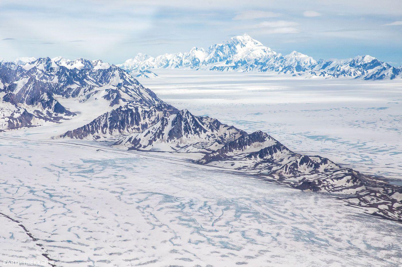 Bagley Icefield Mount St Elias