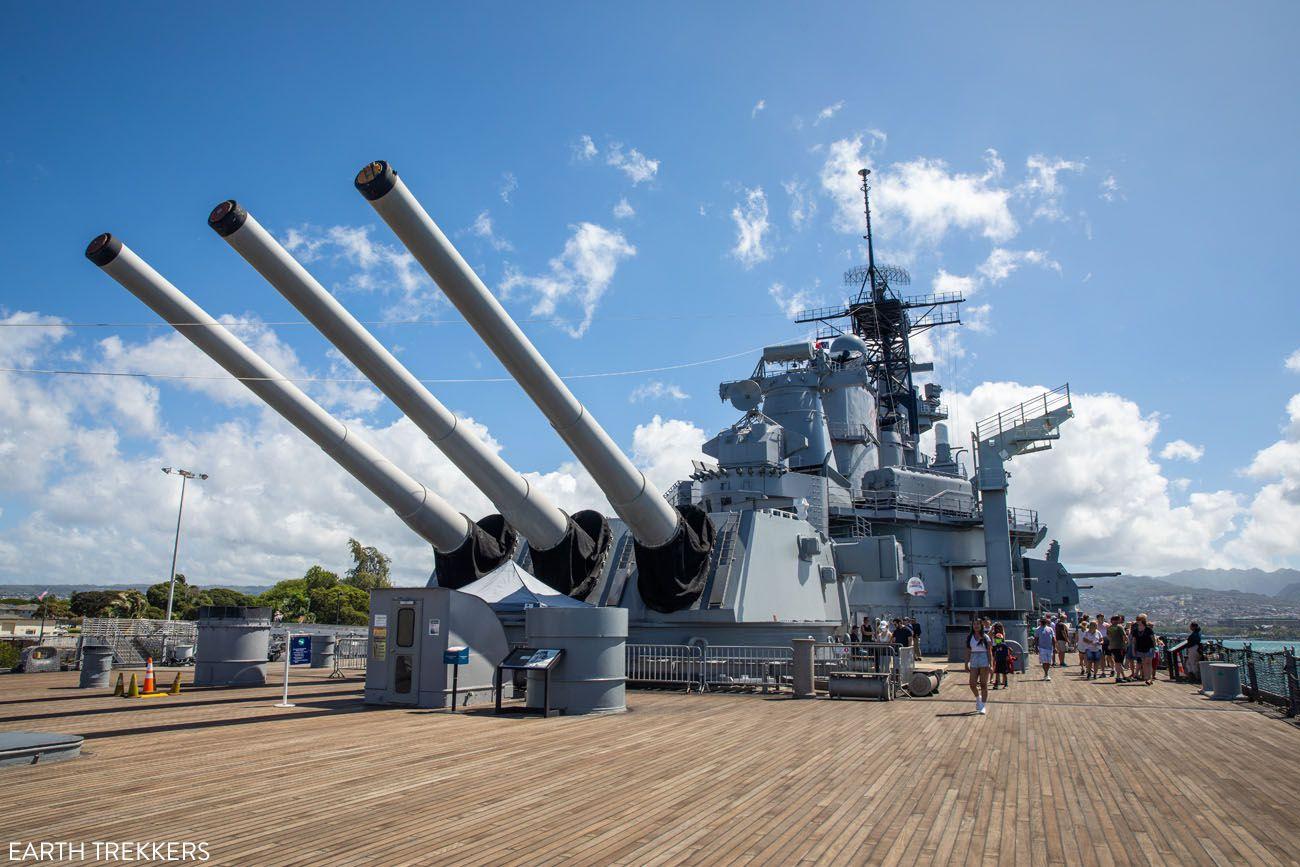 Battleship Missouri