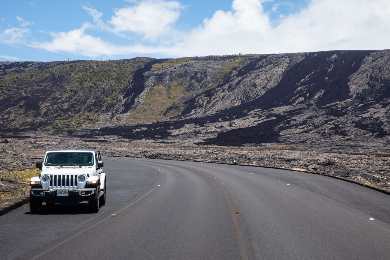 Chain of Craters Road View things to do in Hawai'i Volcanoes National Park