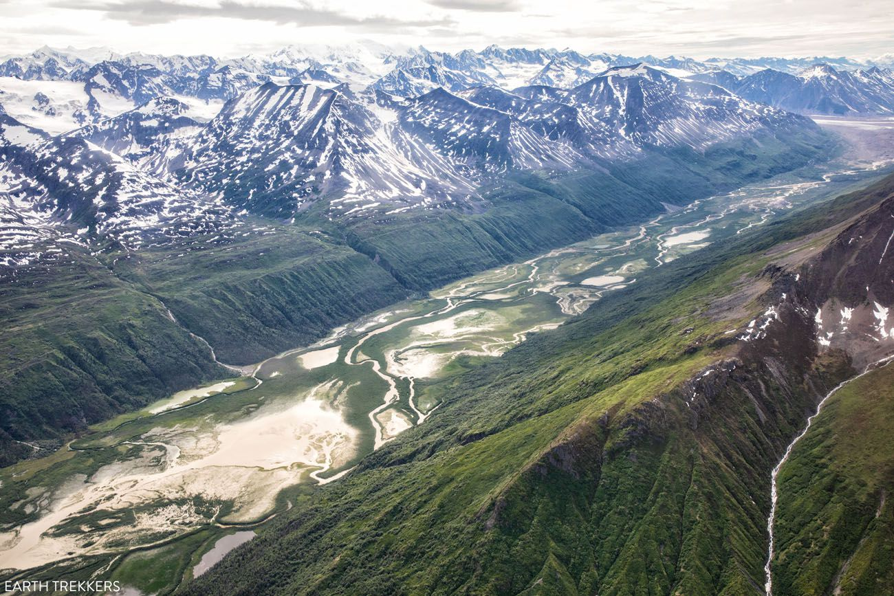 Chitina River Flightseeing