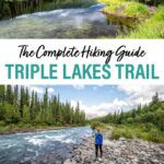 Denali National Park Triple Lakes Hike