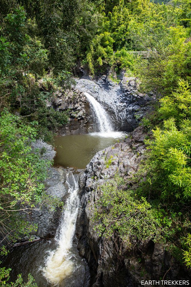 Double Waterfall Pipiwai Trail