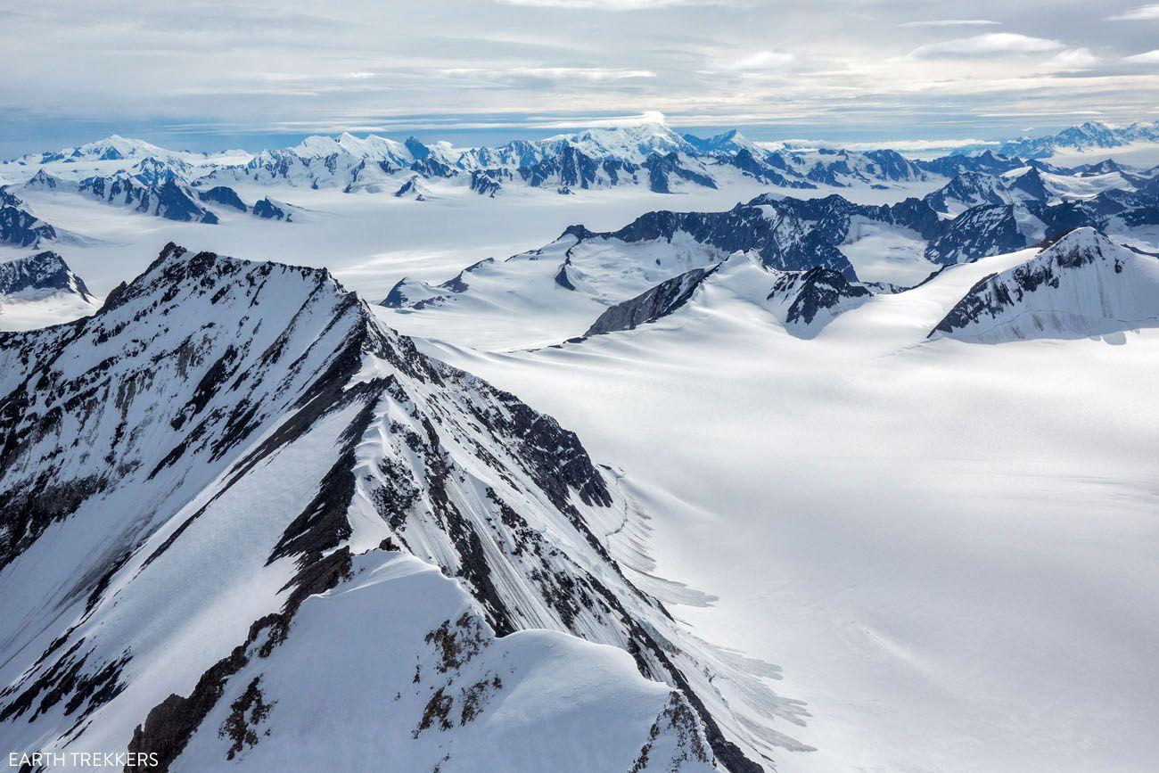 Flightseeing in Alaska
