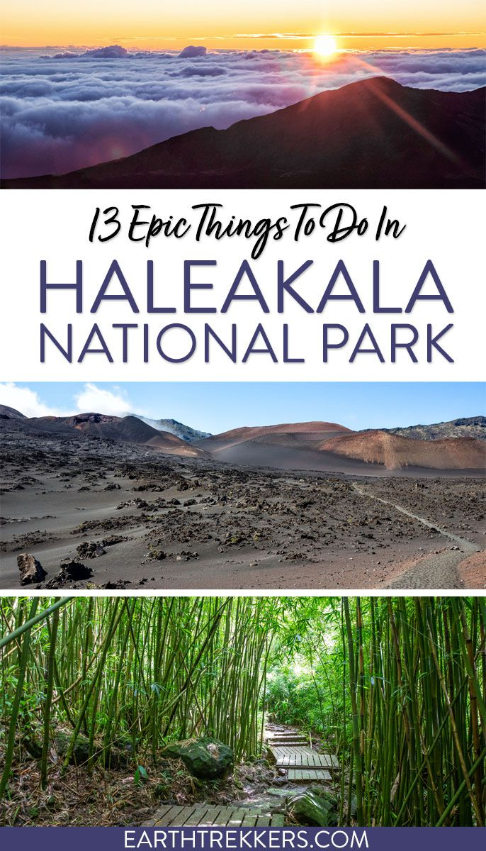 Haleakala National Park Hawaii Travel