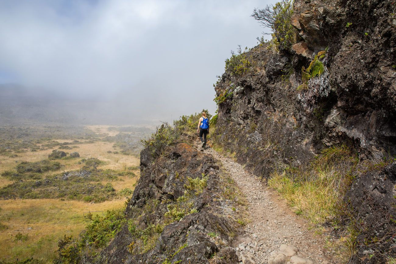 Halemauu Trail Haleakala