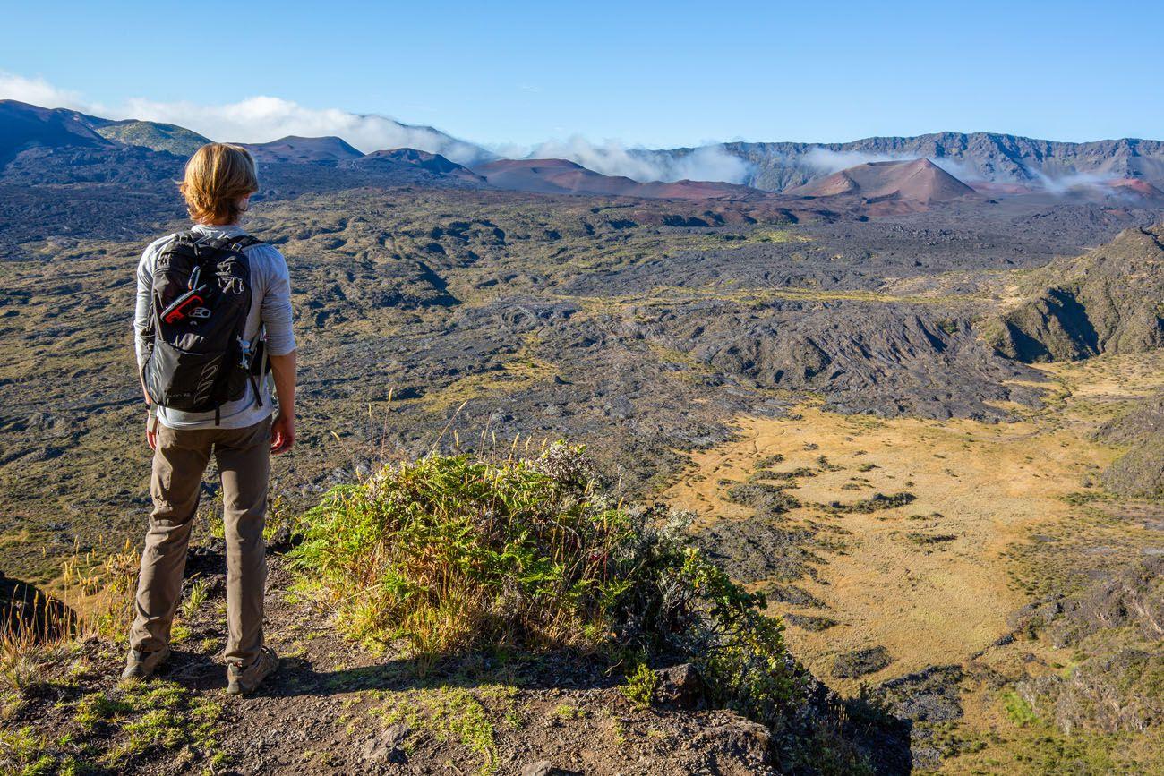 Halemauu Trail Hike Haleakala