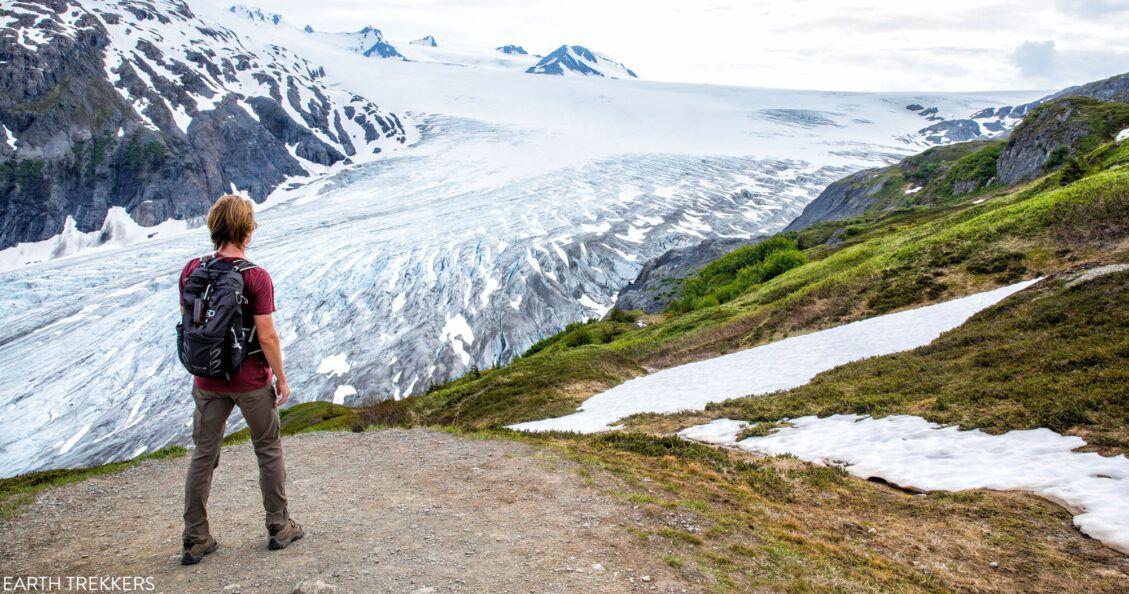 Harding Icefield Trail Hike