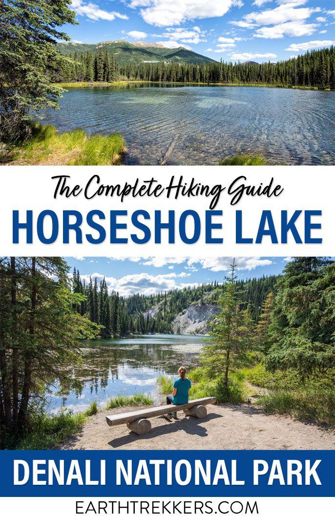 Horseshoe Lake Denali Hike