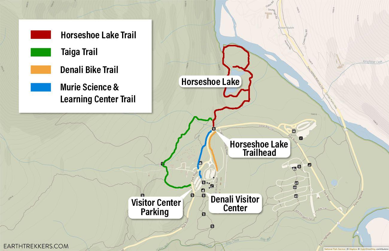 Horseshoe Trail Map