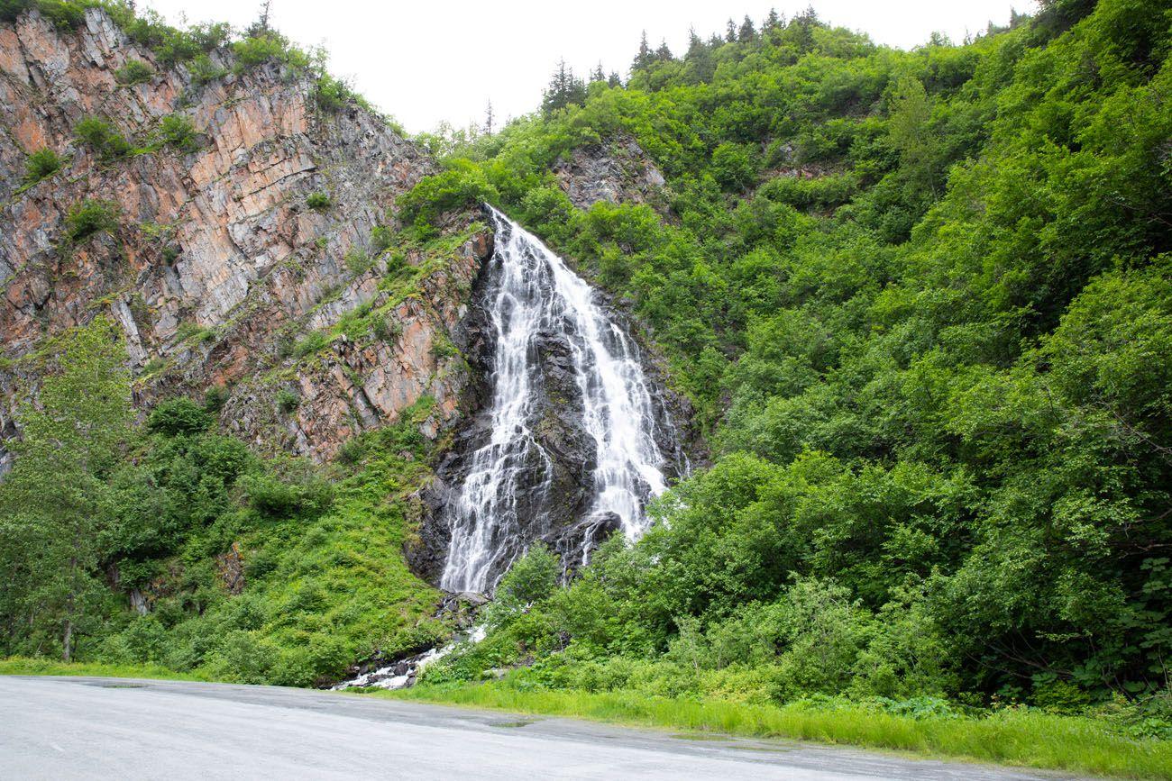 Horsetail Falls Anchorage to Valdez