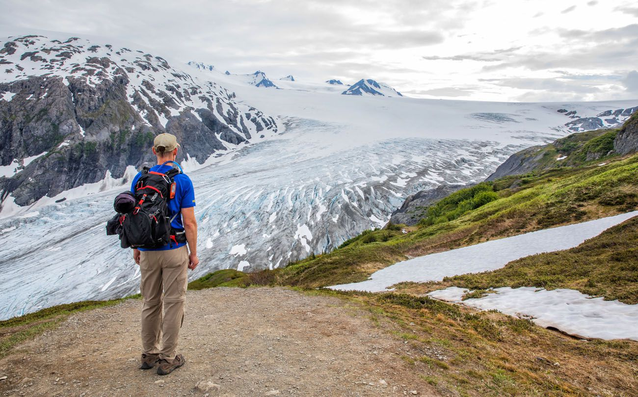 How to Hike Harding Icefield