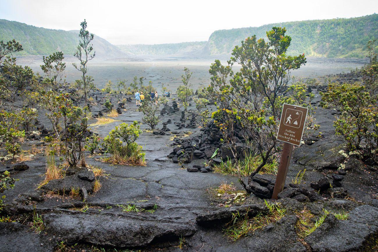 In Kilauea Iki Crater