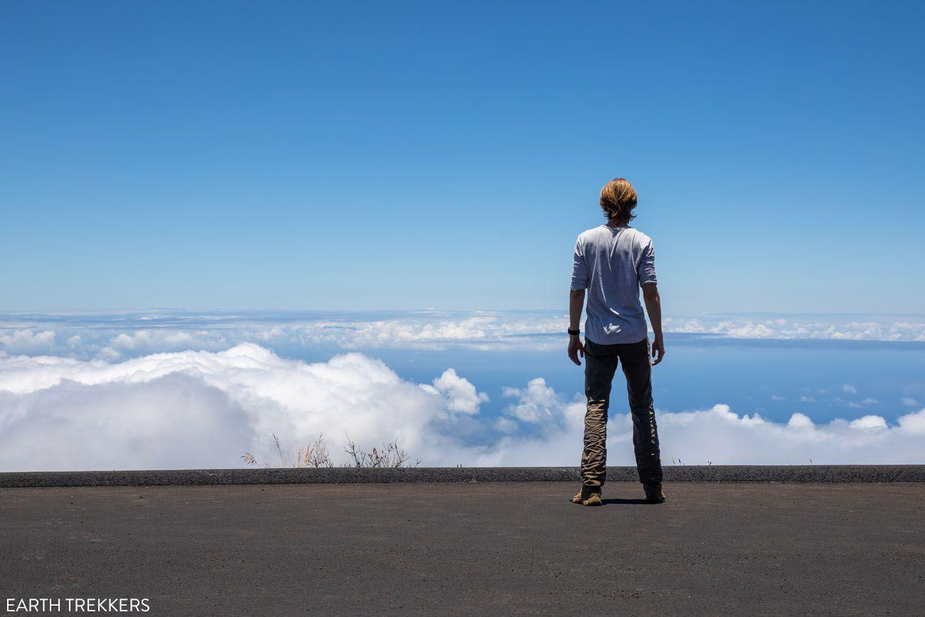Kalahaku Parking best things to do in Haleakala National Park