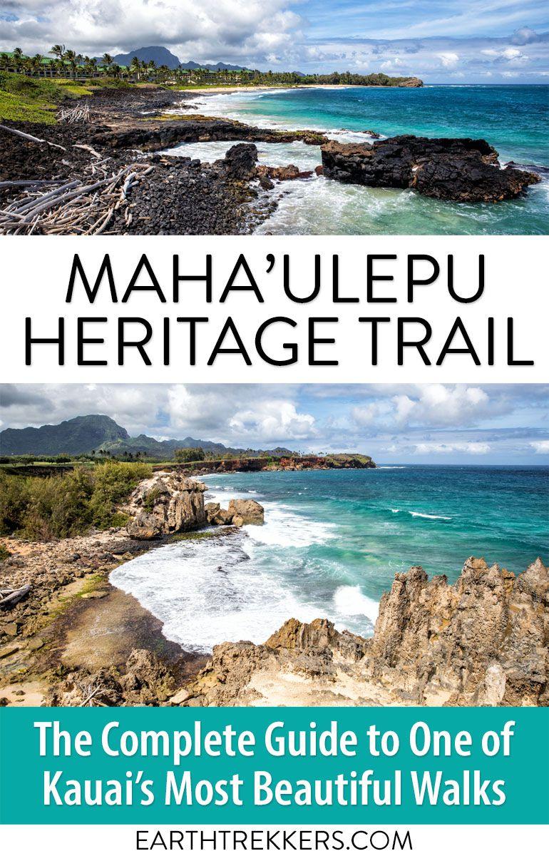 Kauai Hawaii Hike Mahaulepu Trail
