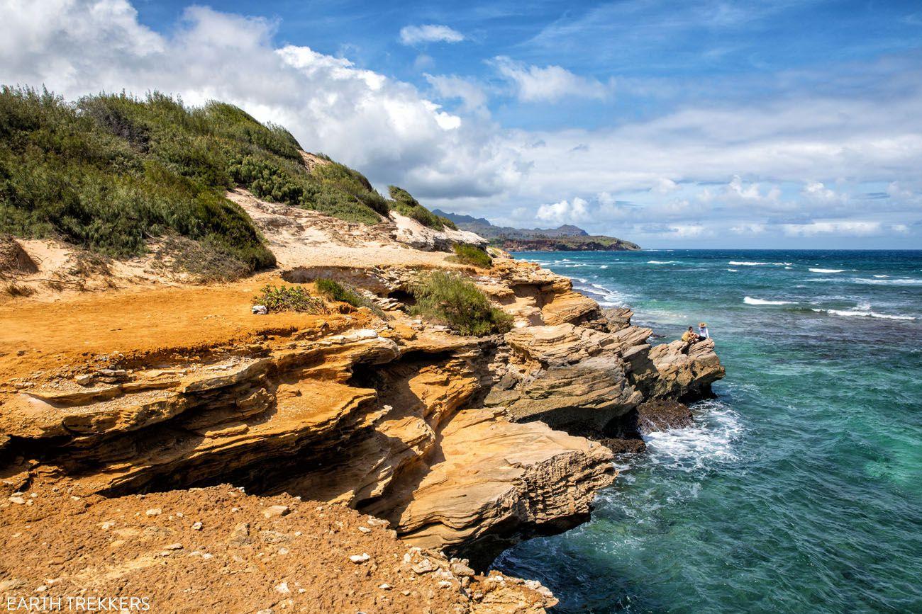 Kauai Limestone Cliffs