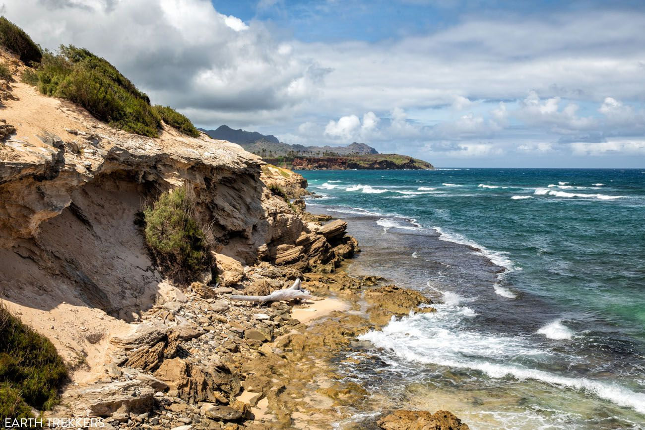 Mahaulepu Coastal Trail View