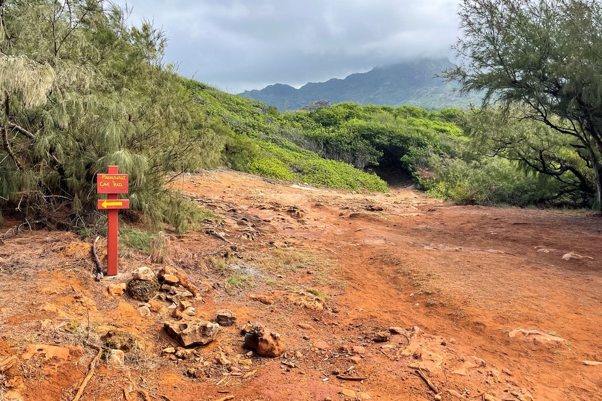 Makauwahi Cave Trail Maha'ulepu Heritage Trail